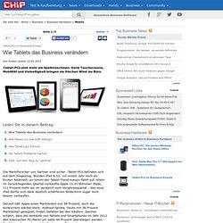 Tablet-PCs im Business-Einsatz - Business