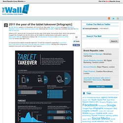 2011 the year of the tablet takeover [Infograpic]