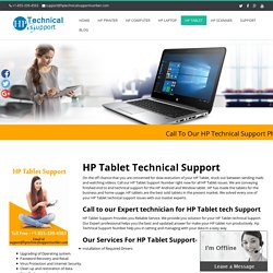 HP Tablet Technical Support Number