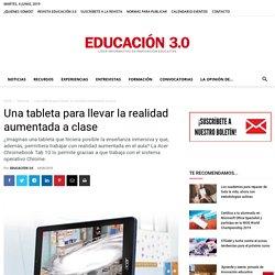 Una tableta para llevar la realidad aumentada a clase