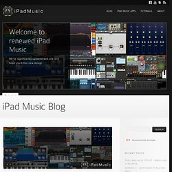 Tabletop app tutorial by Epic Tutorials – iPad Music