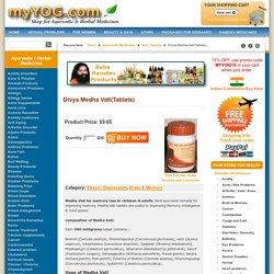 Divya Medha Vati(Tablets)