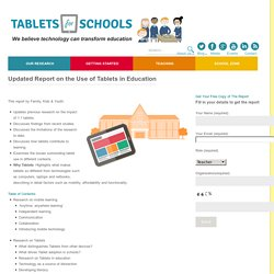Tablets for Schools, Educational Tablets, Tablets for kids