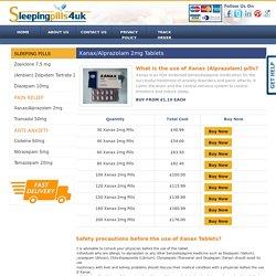Xanax Tablets UK, Buy Xanax Pills Online