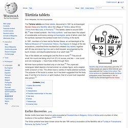 Tărtăria tablets