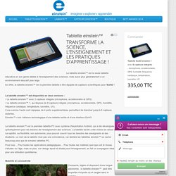 Tablette einstein™