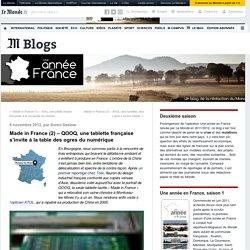 QOOQ, une tablette française s'invite à la table des ogres du numérique