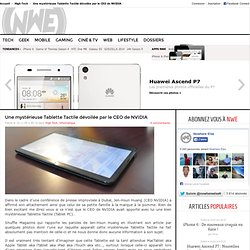 TABLETTE TACTILE (TABLET PC) NVIDIA POUR APPLE ?! | GEEK et HIGH