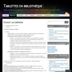 Tablettes en bibliothèque