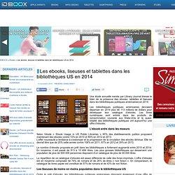 Les ebooks, liseuses et tablettes dans les bibliothèques US en 2014