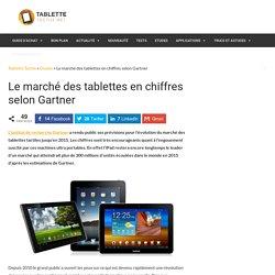 Le marché des tablettes en chiffres selon Gartner