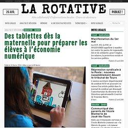Des tablettes dès la maternelle pour préparer les élèves à l'économie numérique