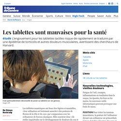 Étude: Les tablettes et la santé (Tribune de Genève)