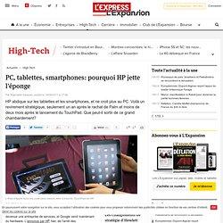 PC, tablettes, smartphones: pourquoi HP jette l'éponge