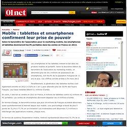 Mobile : les tablettes et smartphones prennent le pouvoir
