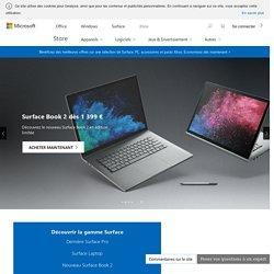PC et tablettes Surface : Achetez Surface Pro, Surface Studio, Surface Laptop et plus encore