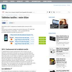 Tablettes tactiles : notre bilan