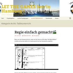 LET THE GAMES ber/in Hamburg !