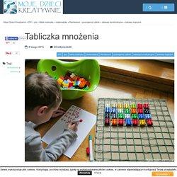 Tabliczka mnożenia - Moje Dzieci Kreatywnie