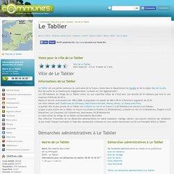 Mairie Le Tablier, informations sur la ville Le Tablier 85310