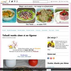 Taboulé menthe citron et ses légumes