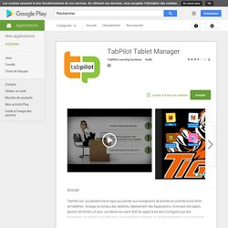 TabPilot Tablet Manager
