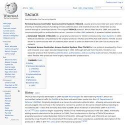 TACACS