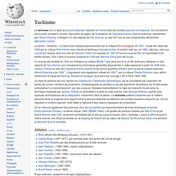 Tachisme