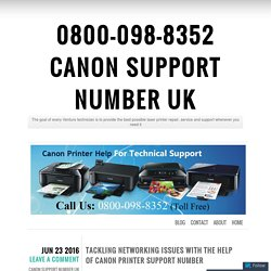0800-098-8352 Canon printer Contact Number UK