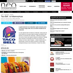 Taco Bell : la métamorphose