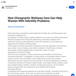 Tacoma Chiropractor on Behance