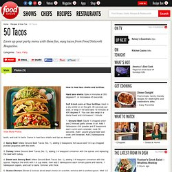 50 Tacos : Recipes and Cooking
