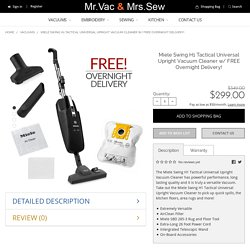Buy Miele H1 Tactical Universal Upright Vacuum Cleaner today!