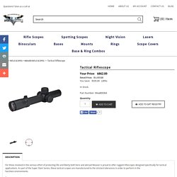Buy Tactical Scopes in Cheap Price
