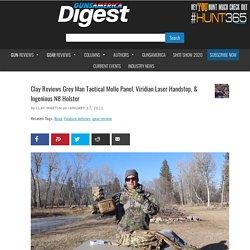 Clay Reviews Grey Man Tactical Molle Panel, Viridian Laser Handstop, & Ingenious N8 Holster