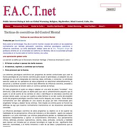 Factnet: Dialog & Info on Key Public Issues & Human Rights