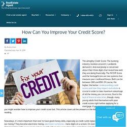 Best Tactics To Improve Your Credit Score?