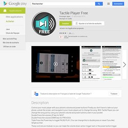Tactile Player Free