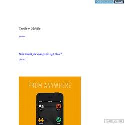 Tactile et Mobile