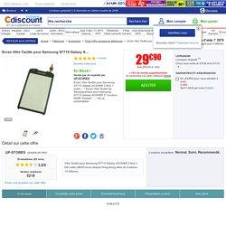 Ecran Vitre Tactile pour Samsung S7710 Galaxy X… - Achat / Vente Ecran Vitre Tactile pour