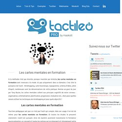 ProLes cartes mentales en formation - Tactileo Pro