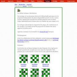 Tactiques - 30 thèmes tactiques du jeu d'échecs