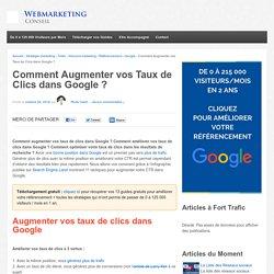 11 Tactiques pour Augmenter vos Taux de Clics sur Google [Guide]