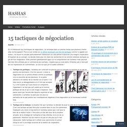 15 tactiques de négociation