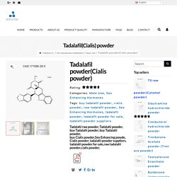 Raw Tadalafil(Cialis) powder hplc≥99.5%