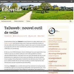 TaDaweb : nouvel outil de veille
