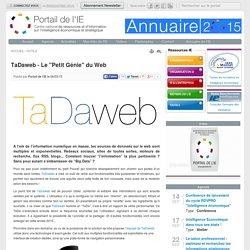 """TaDaweb - Le """"Petit Génie"""" du Web"""