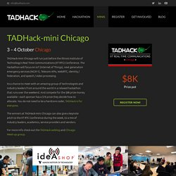 mini IIT RTC Chicago - TADHack 2015