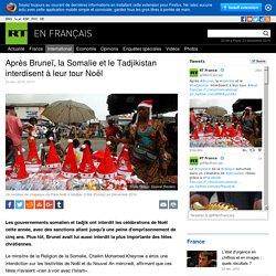 Après Bruneï, la Somalie et le Tadjikistan interdisent à leur tour Noël
