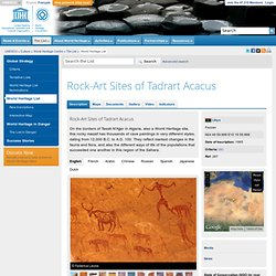 Rock-Art Sites of Tadrart Acacus